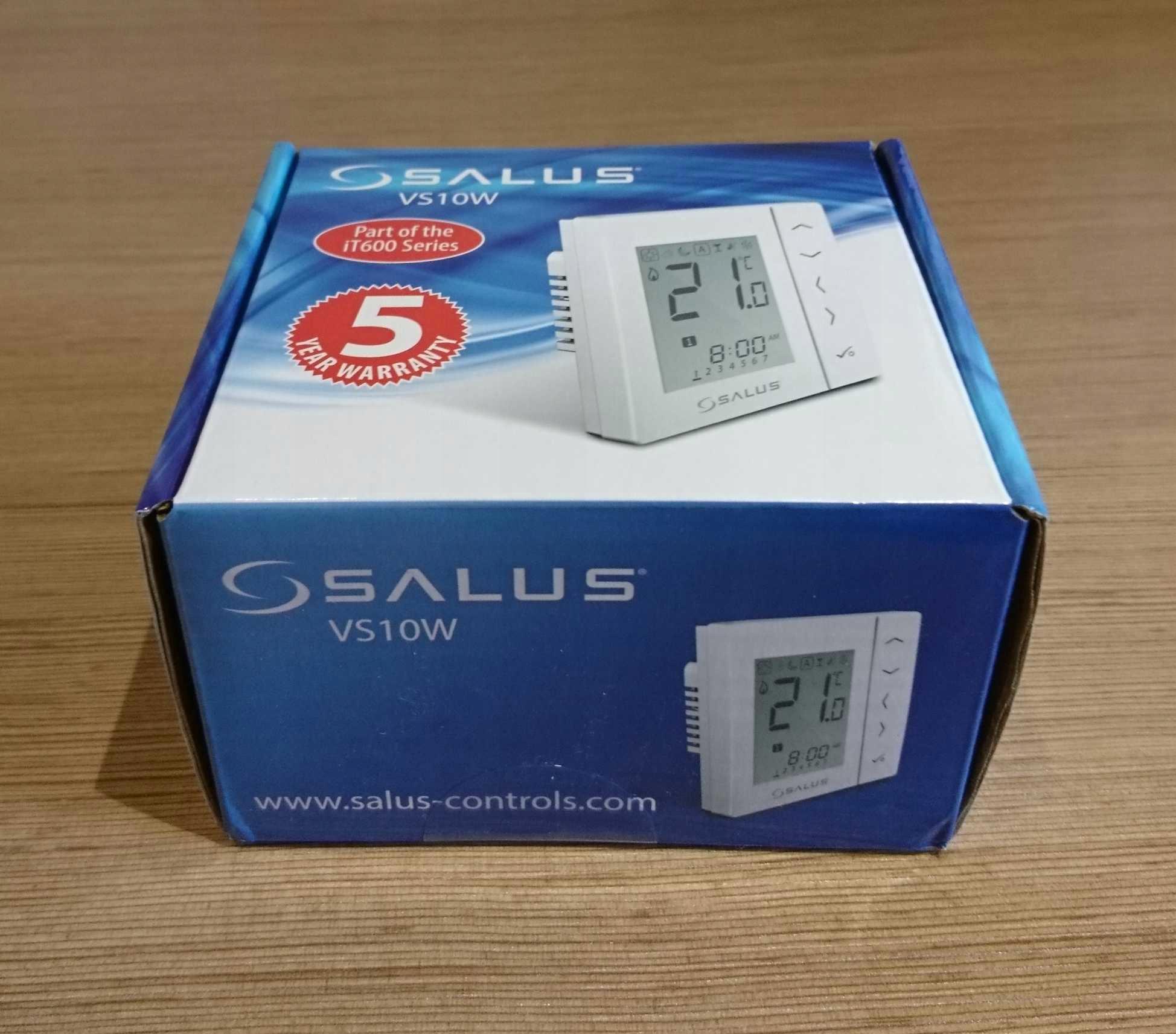 Salus VS10W cyfrowy regulator temperatury
