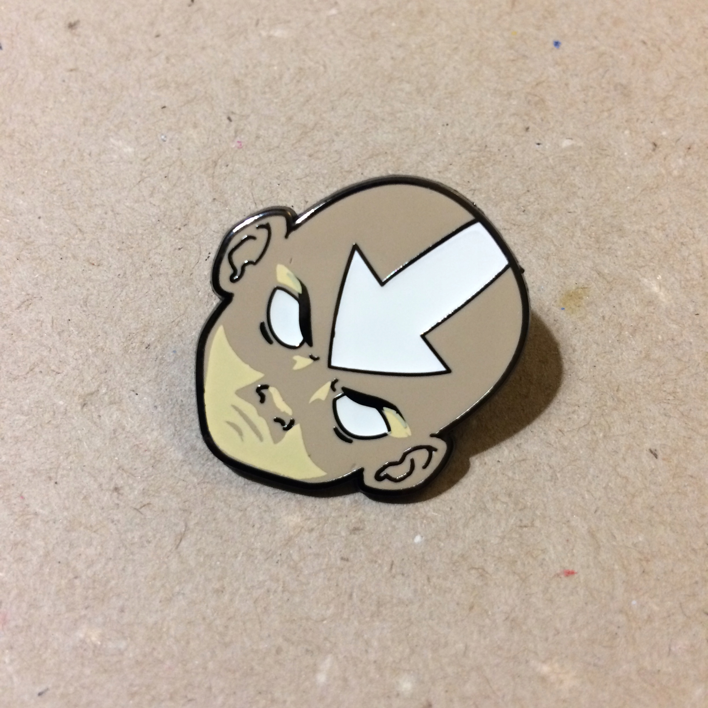 PRZYPINKA AVATAR Aang enamel pin LOOTCRATE! unikat
