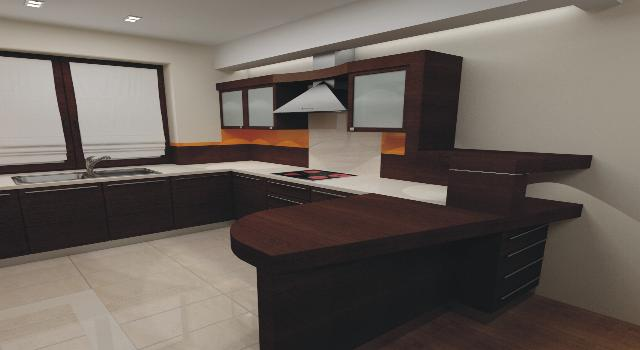 Nowa Kuchnia Meble Kuchenne Płyty Fornirowane 7294894803