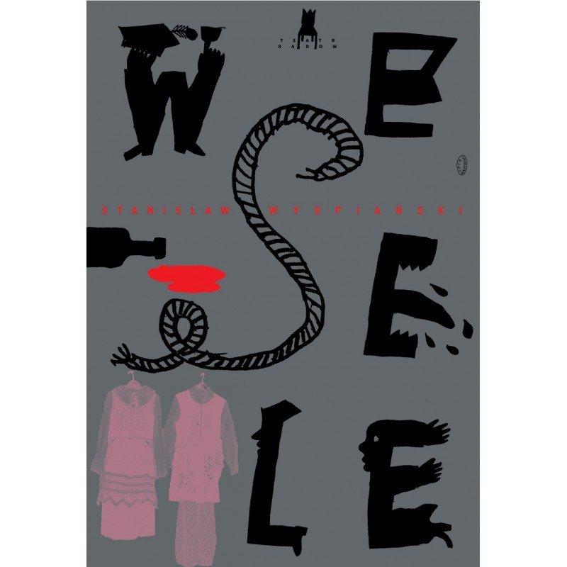 Plakat Wyspiański Wesele Lech Majewski 7212140123