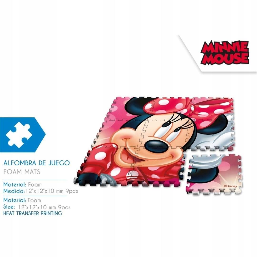Puzzle piankowe Myszka Minnie
