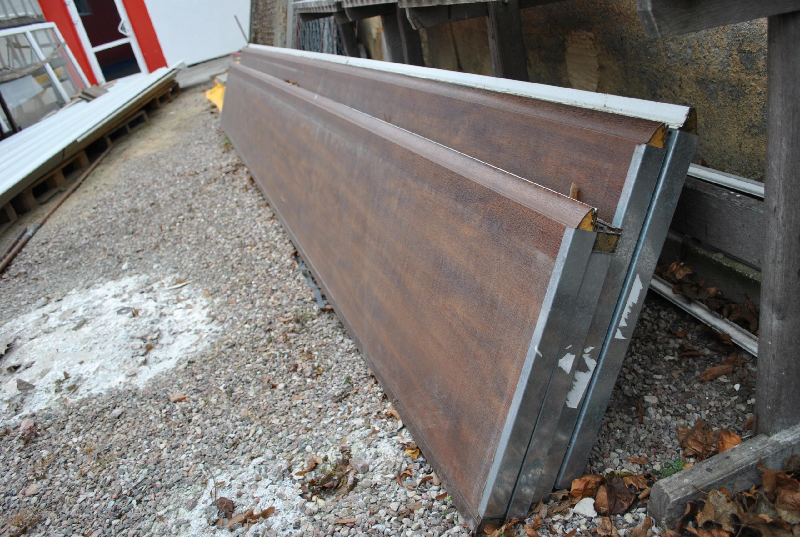 Bardzo dobra panele bramy garażowej panel scienny przegroda - 7702577175 TX58