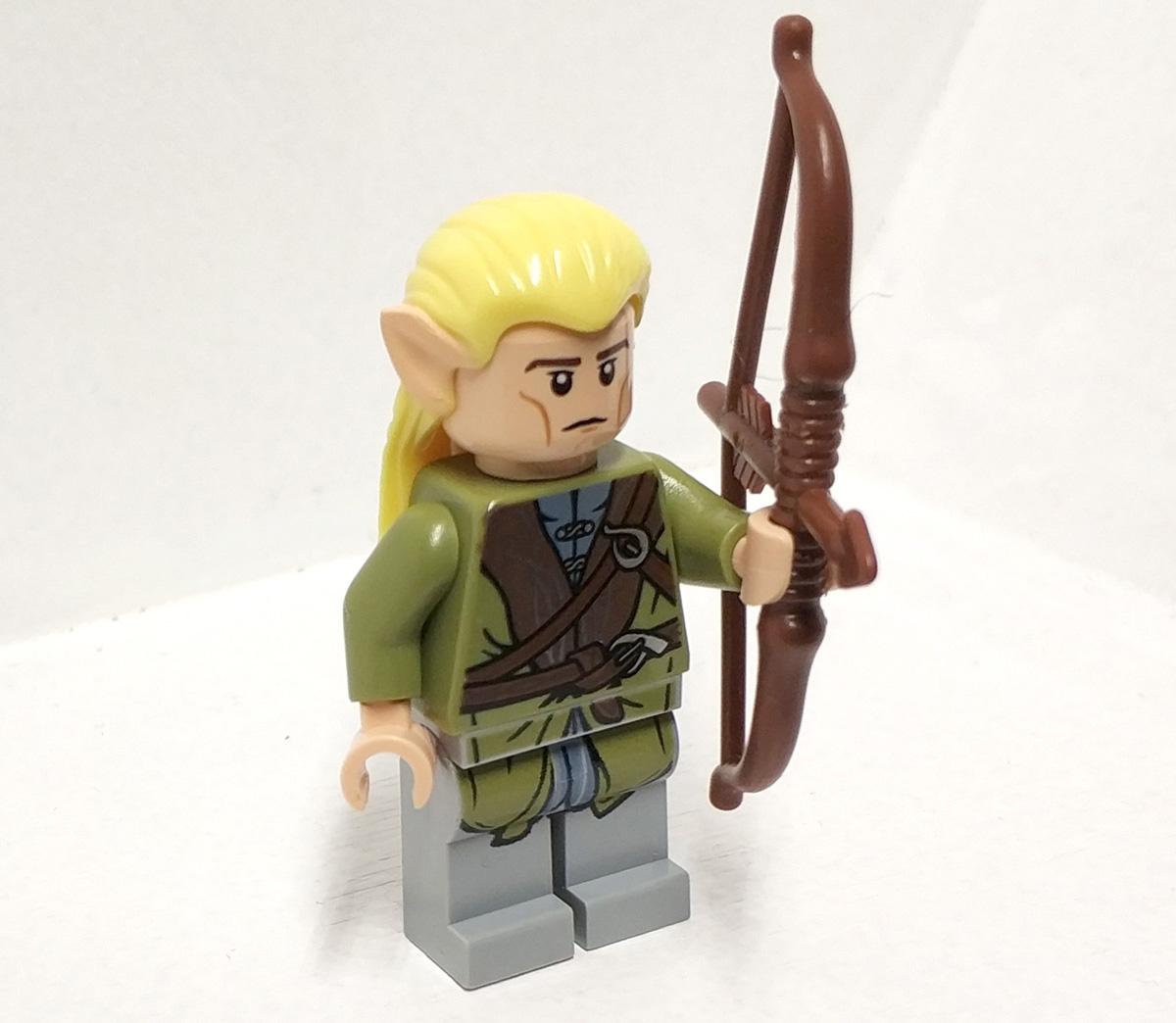 Lego Figurka Lor015 Legolas Lotr Władca Pierścieni 7132293518
