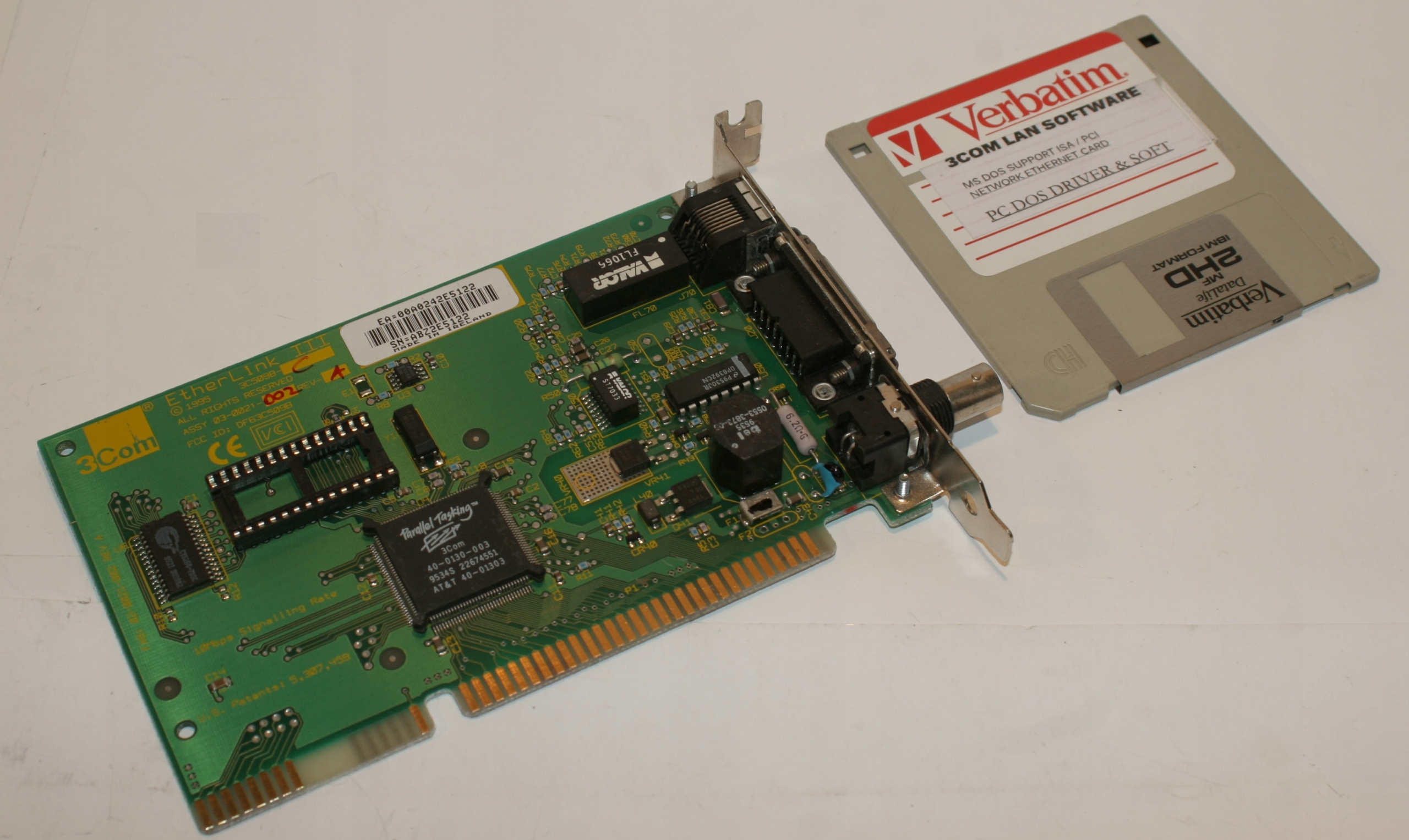 3COM 3C509B DOS DRIVER FOR PC
