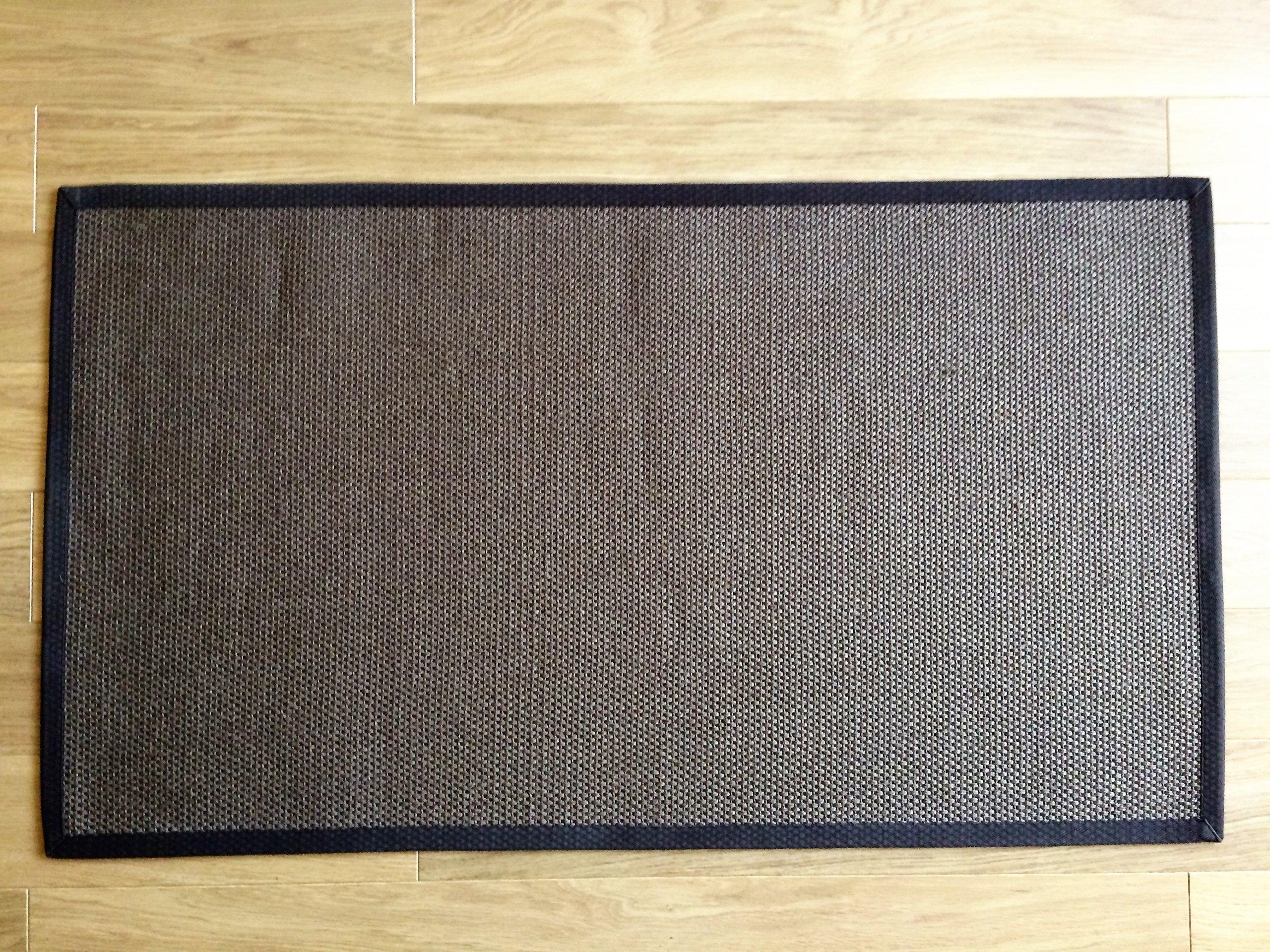 Dywan Sizal Naturalny 80x140cm Ikea Egeby Brąz