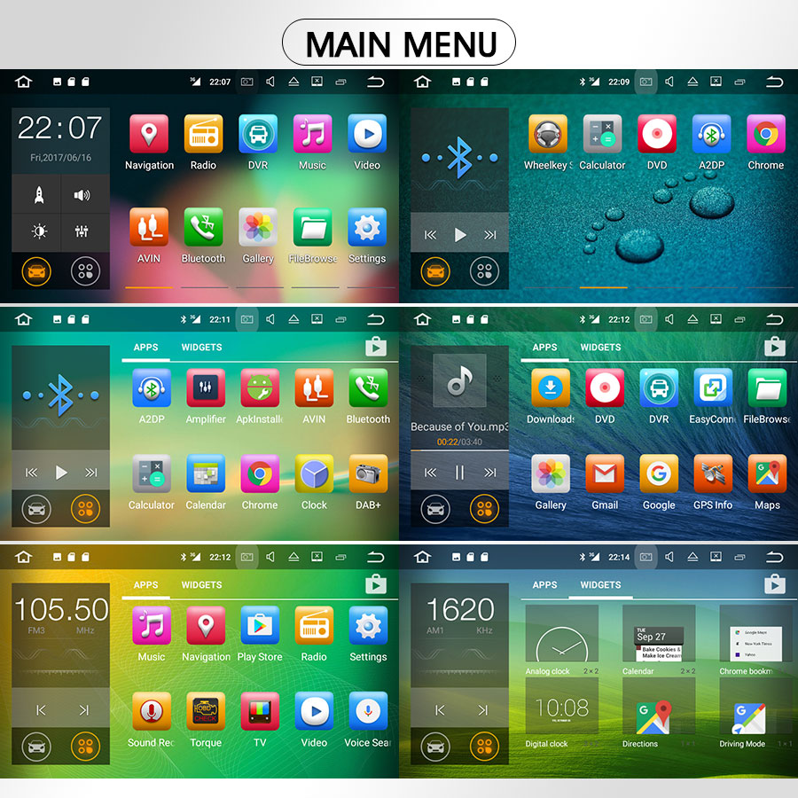 Radio DAB Tablet Android 7 GPS DVD AUDI A4 B7 EXEO