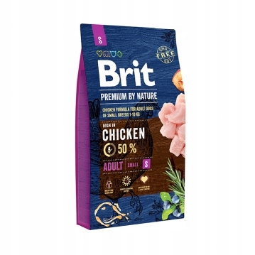Brit Premium By Nature Adult Small S 2x8kg