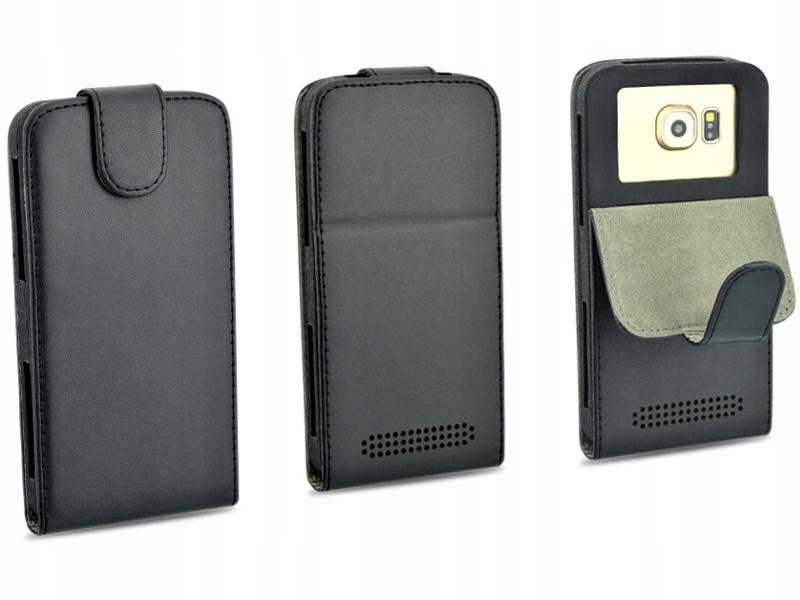 Etui czarne do telefonu Huawei P8 Lite