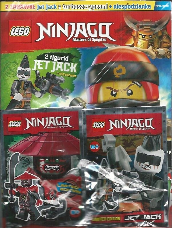 Lego Ninjago Magazyn Nr 818 Jet Jack Z Turboszc 7602012409