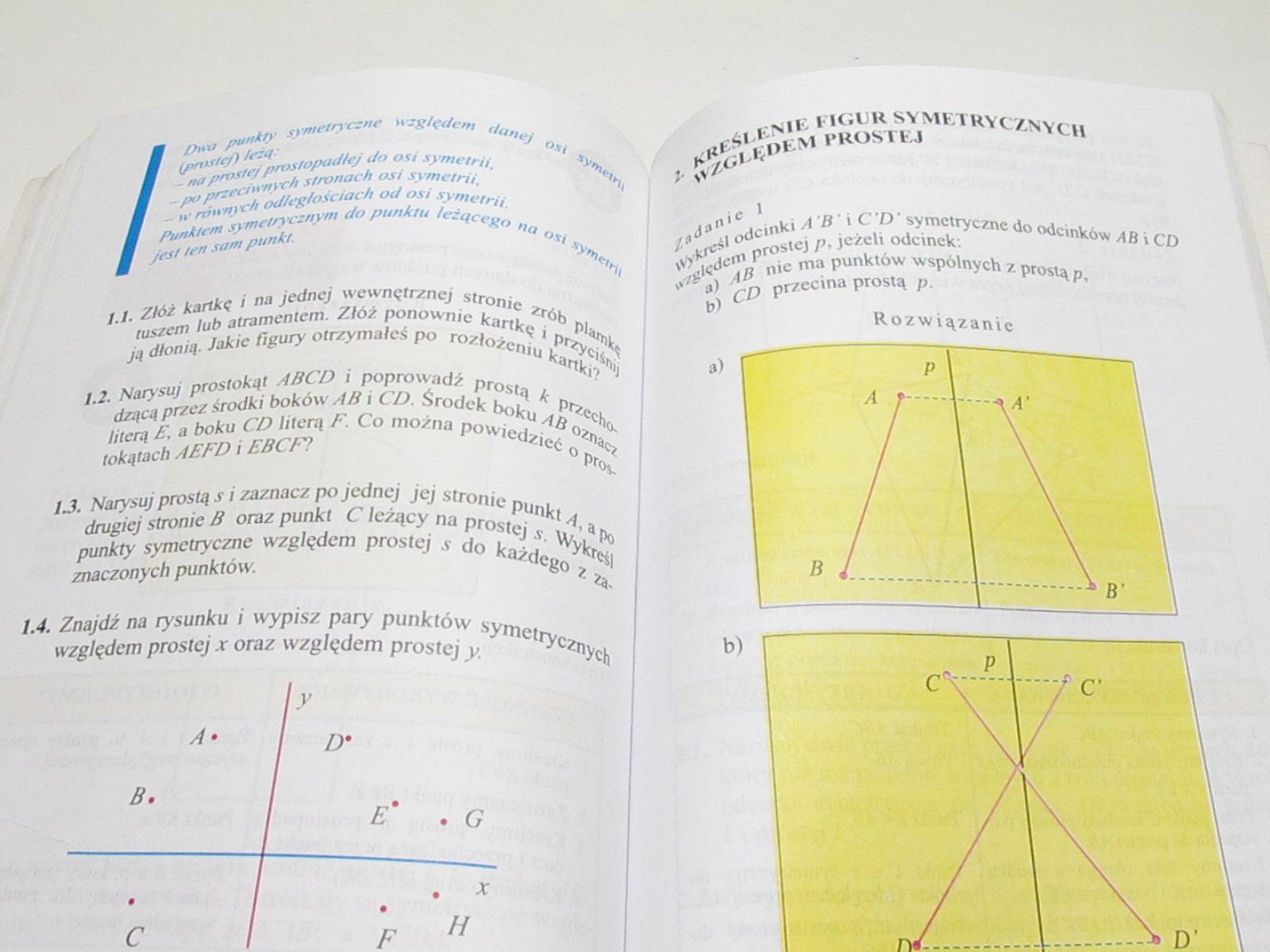 Od Pitagorasa Do Euklidesa Podręcznik 1 Gim 7097061730