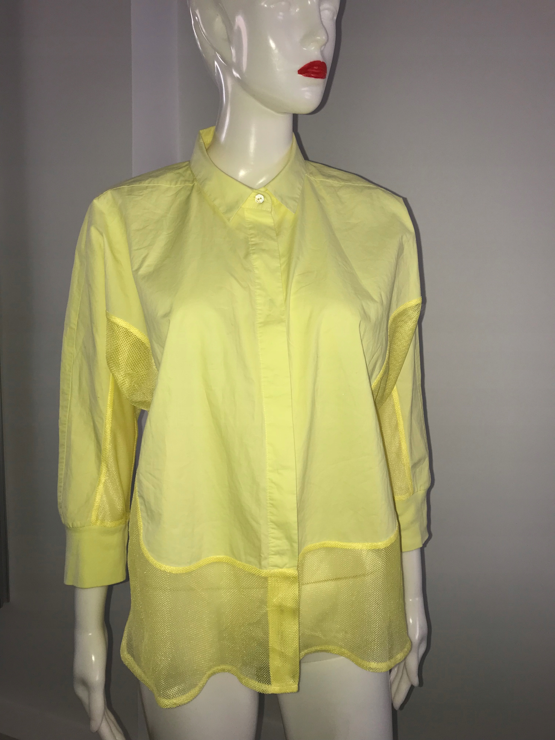Ania Schierholt 36 S koszula żółta j.nowa ideał