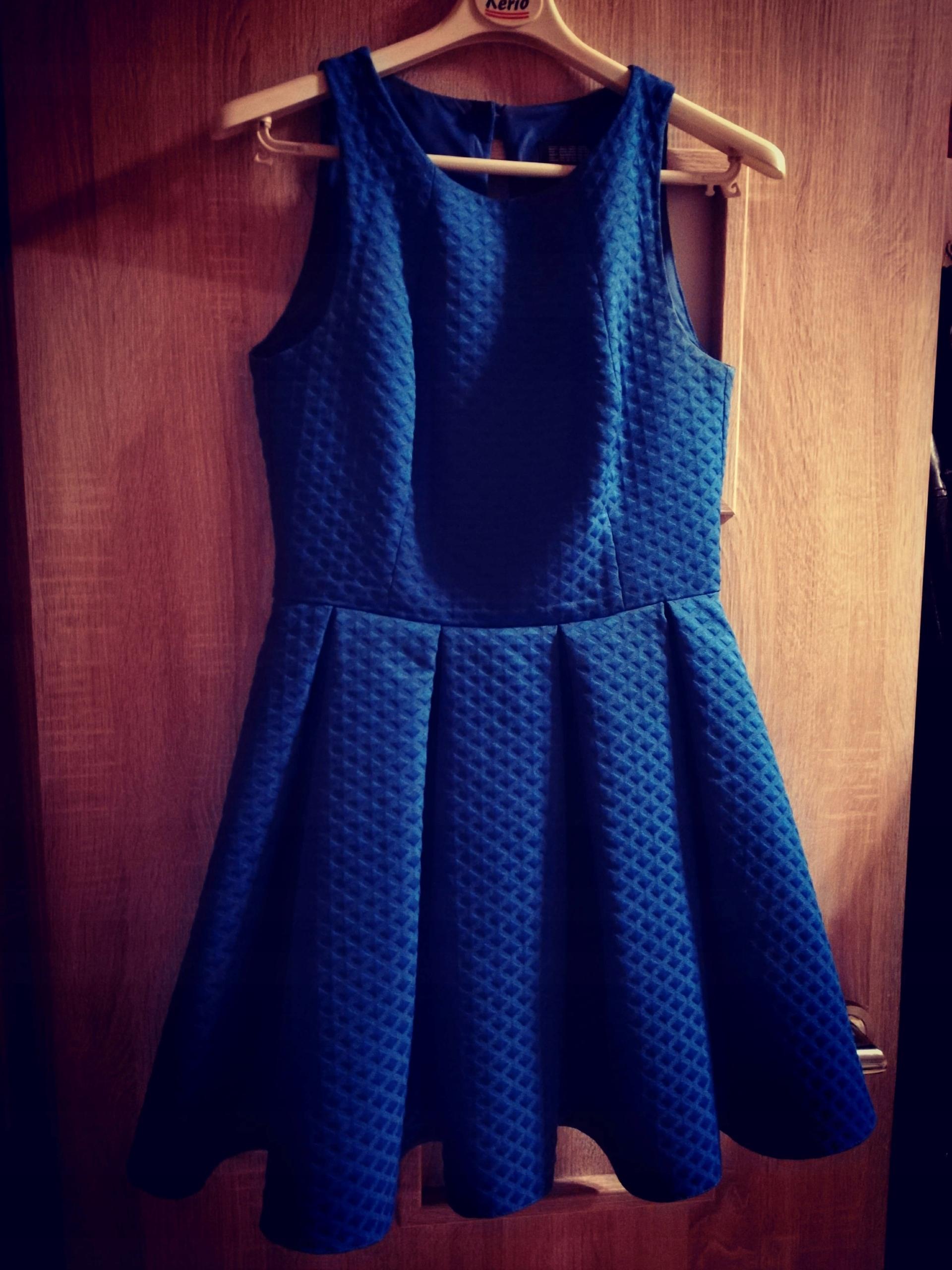 9e4ccb4e99 Sukienka kobalt MANGO H M ZARA kobaltowa 36 38 - 7603077678 ...