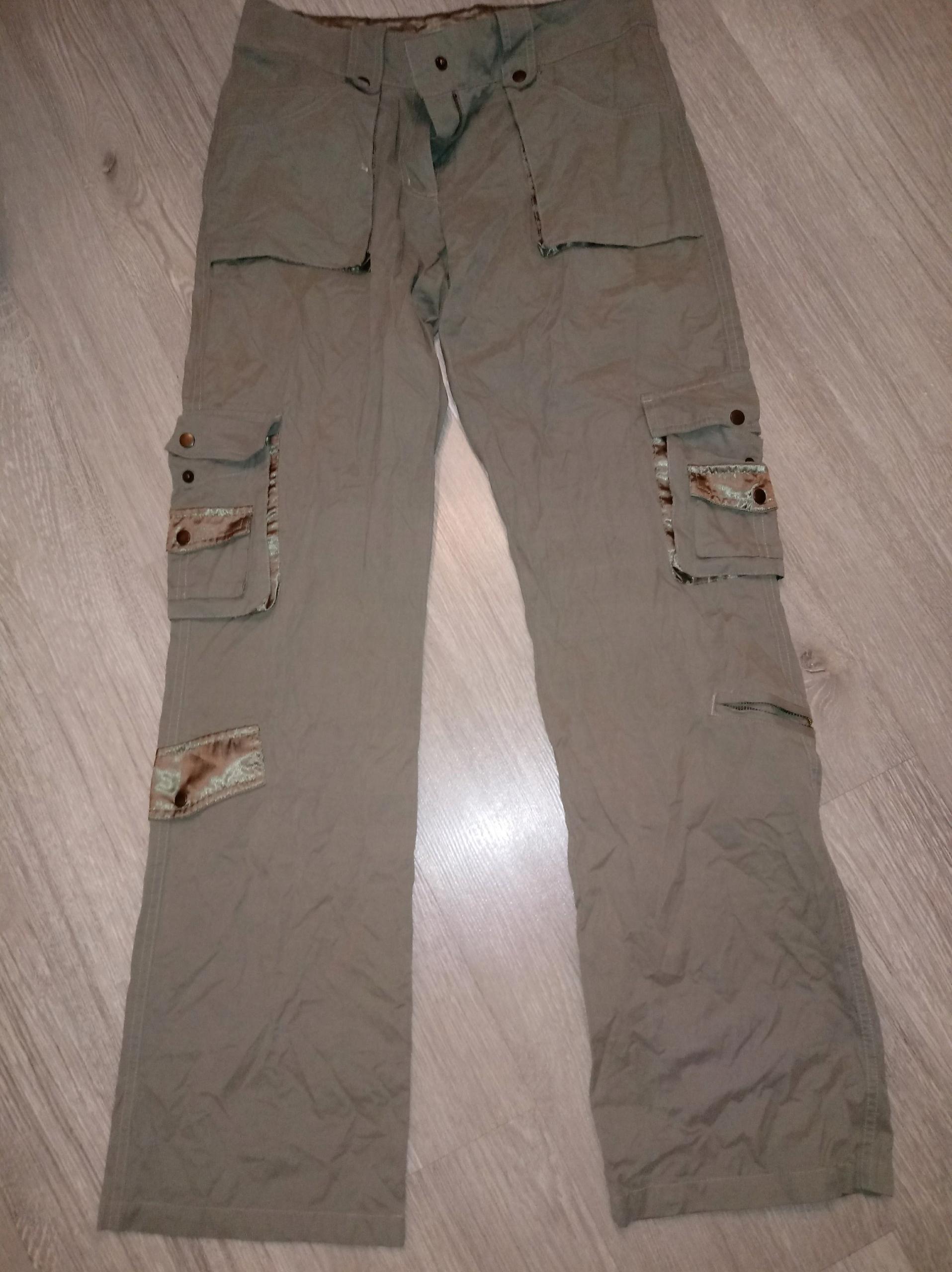 3d68ecac29c7 Spodnie beżowe bojówki r.M OKAZJA - 7680095223 - oficjalne archiwum ...