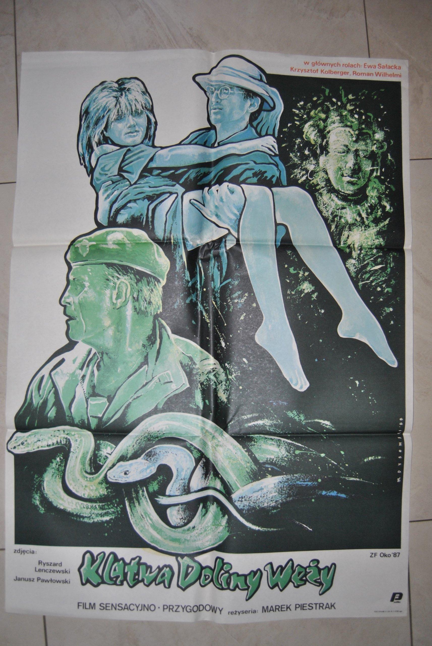 Plakat Filmowy Klątwa Doliny Węży Dybowski 7177033620