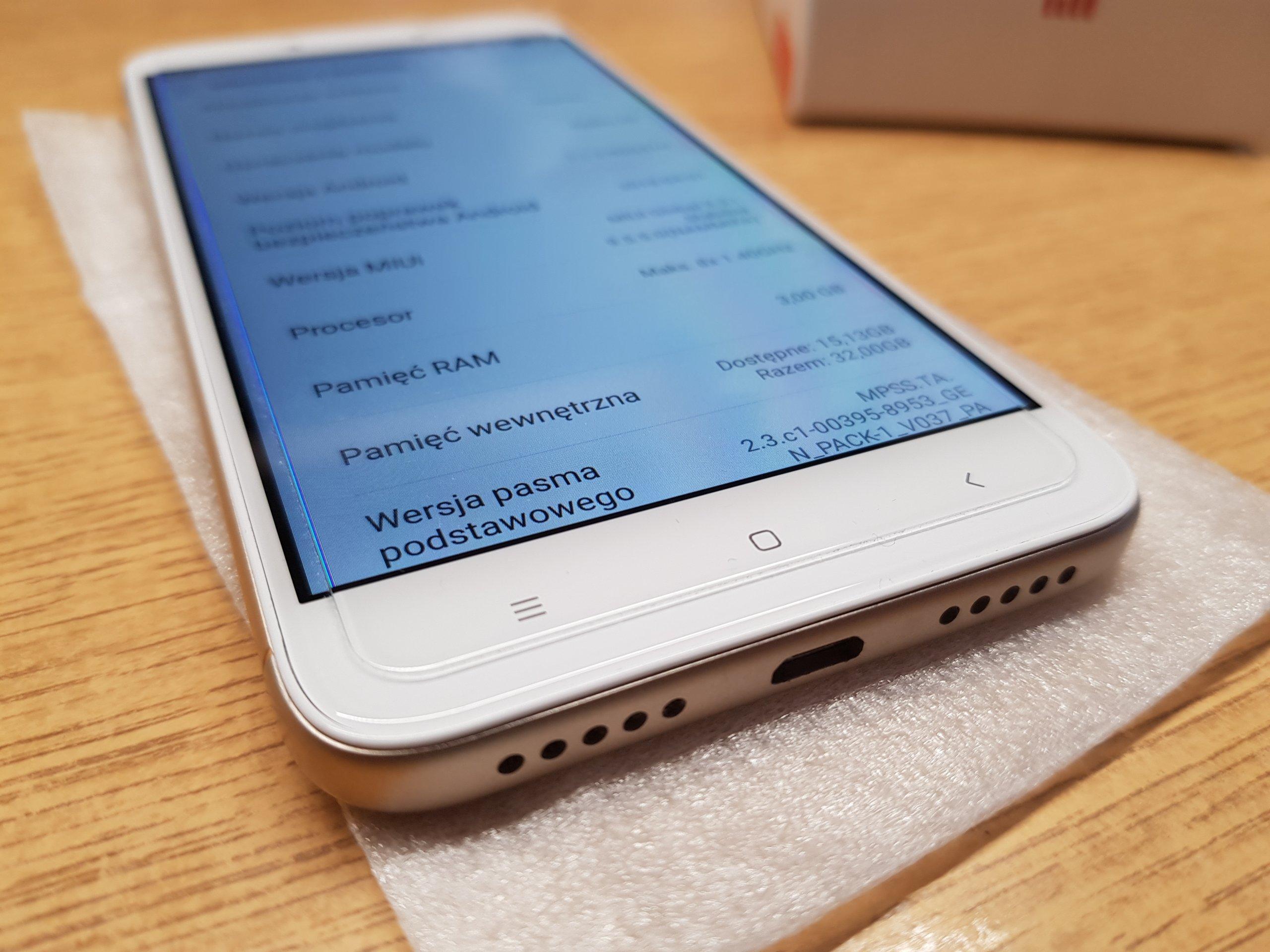 Xiaomi Redmi 4X 3 32GB złoto biały jak NOWY