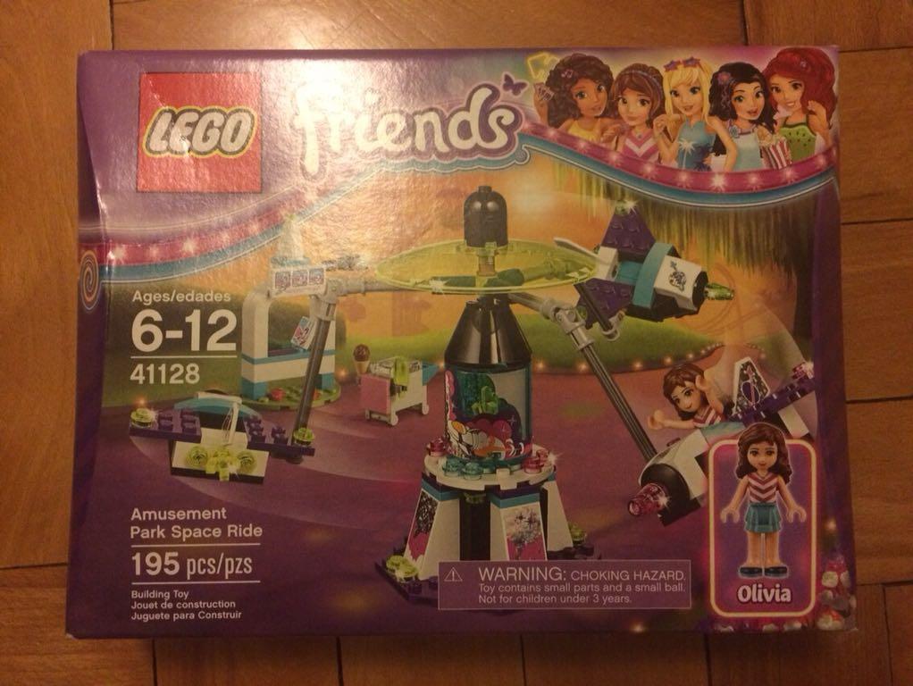 Lego Friends 41128 Karuzela W Parku Rozrywki 7088401183