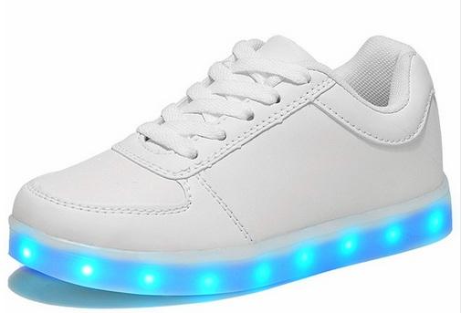 buty adidas superstar świecąca podeszwa niebieskie czerwone