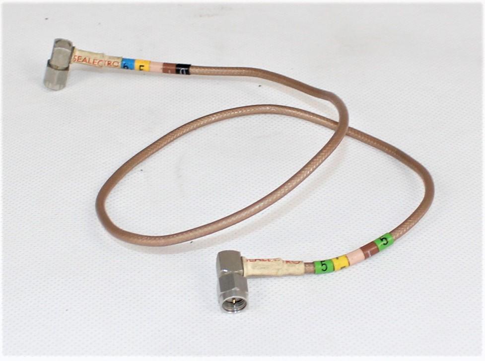 Przewód koncentryczny PTFE 2 x SMA 48 cm