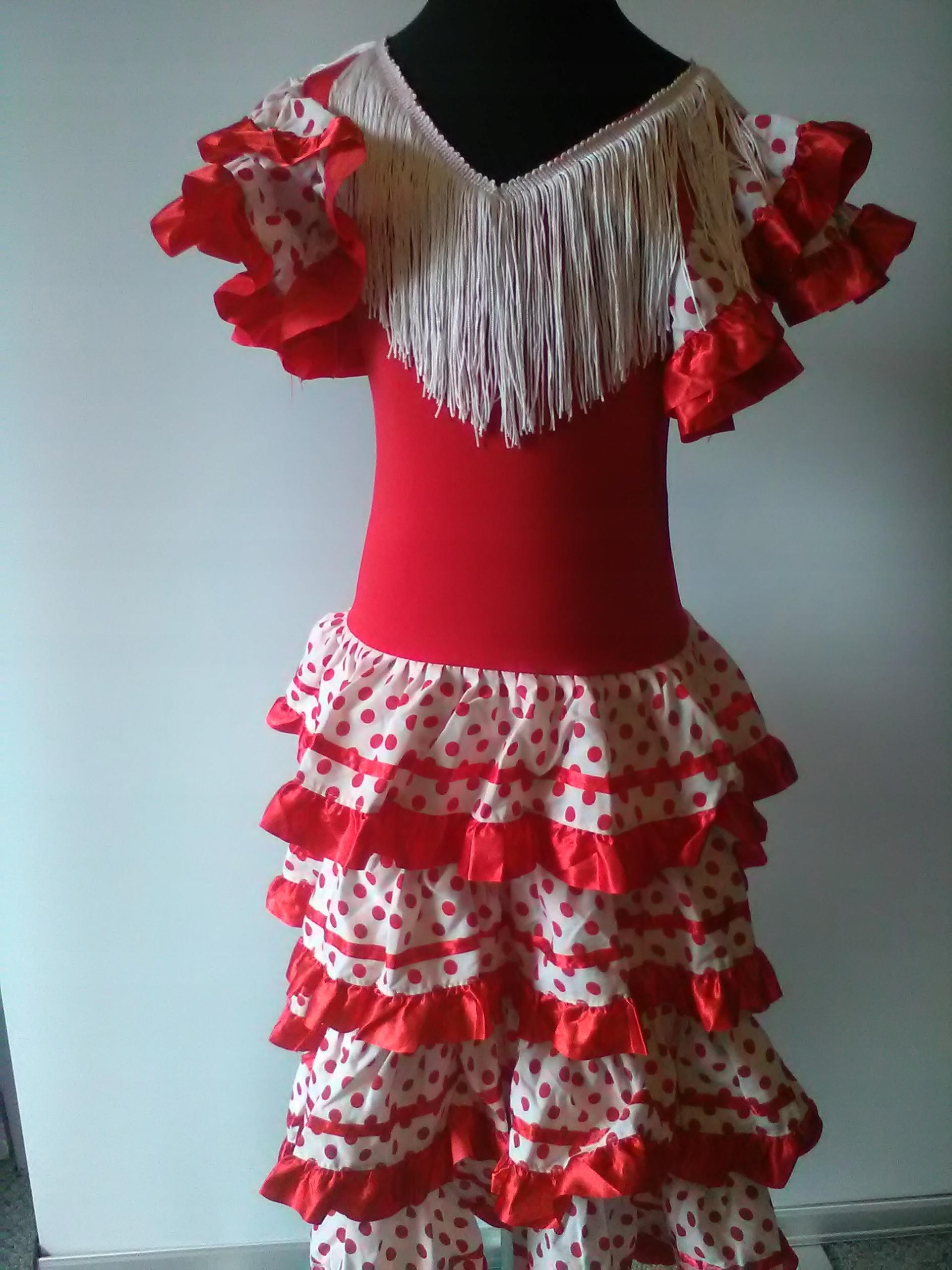 eb6dcda5a7 Strój karnawałowy tancerka flamenco 140 (3528) - 7481915498 ...