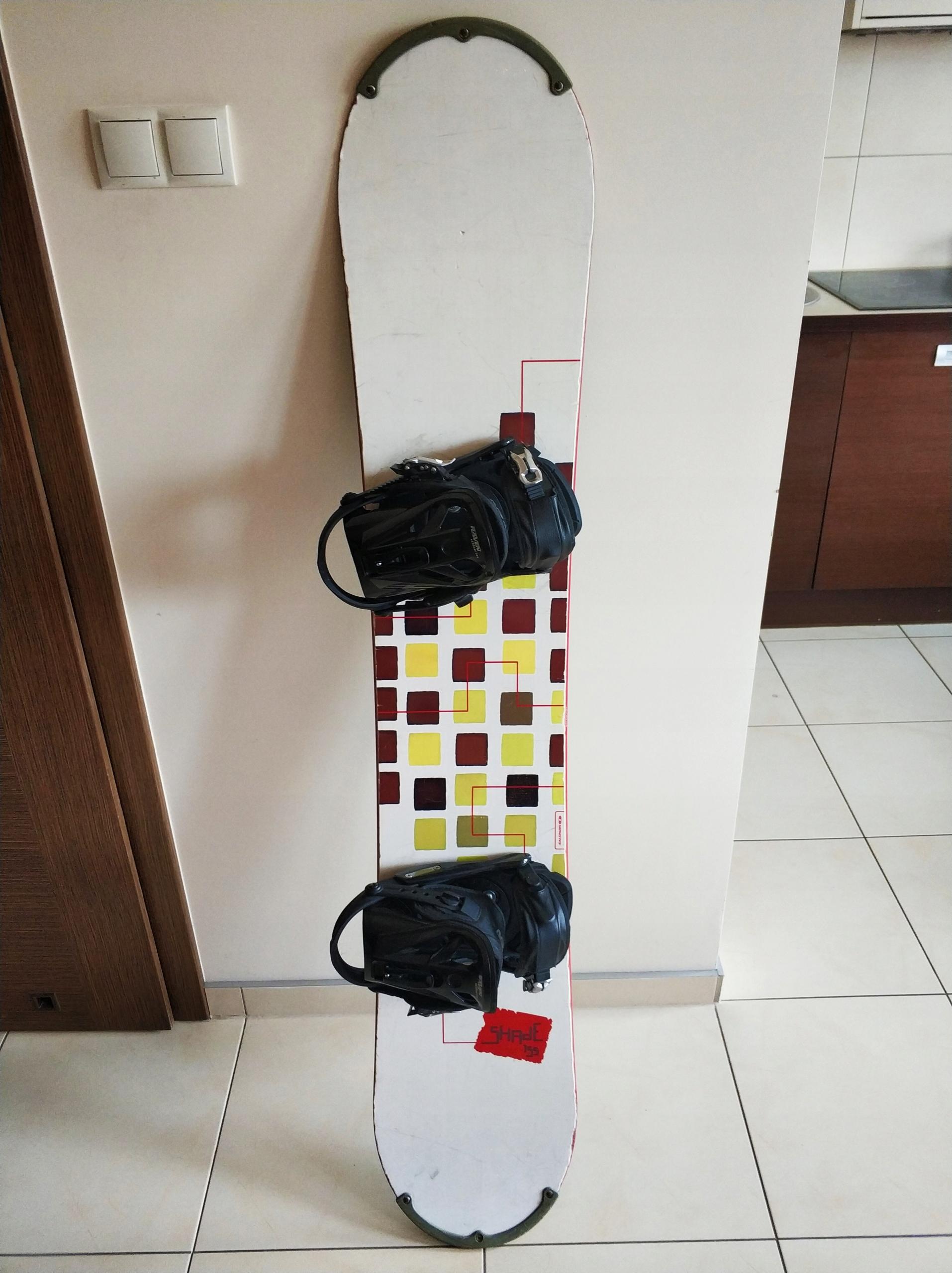 Deska Snowboardowa Salomon 155 + Buty Rossignol