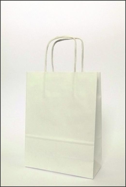 cec04a60db955 Torby papierowe eko białe 180x80x210mm 10 szt - 6692839039 ...