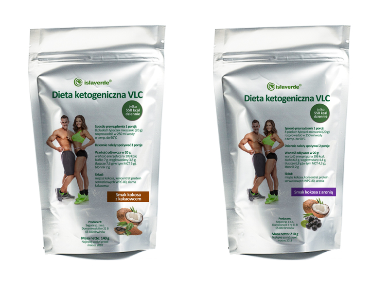 Dieta Ketogeniczna 7dni X500 Kcal Witamina C Msm 6741420699