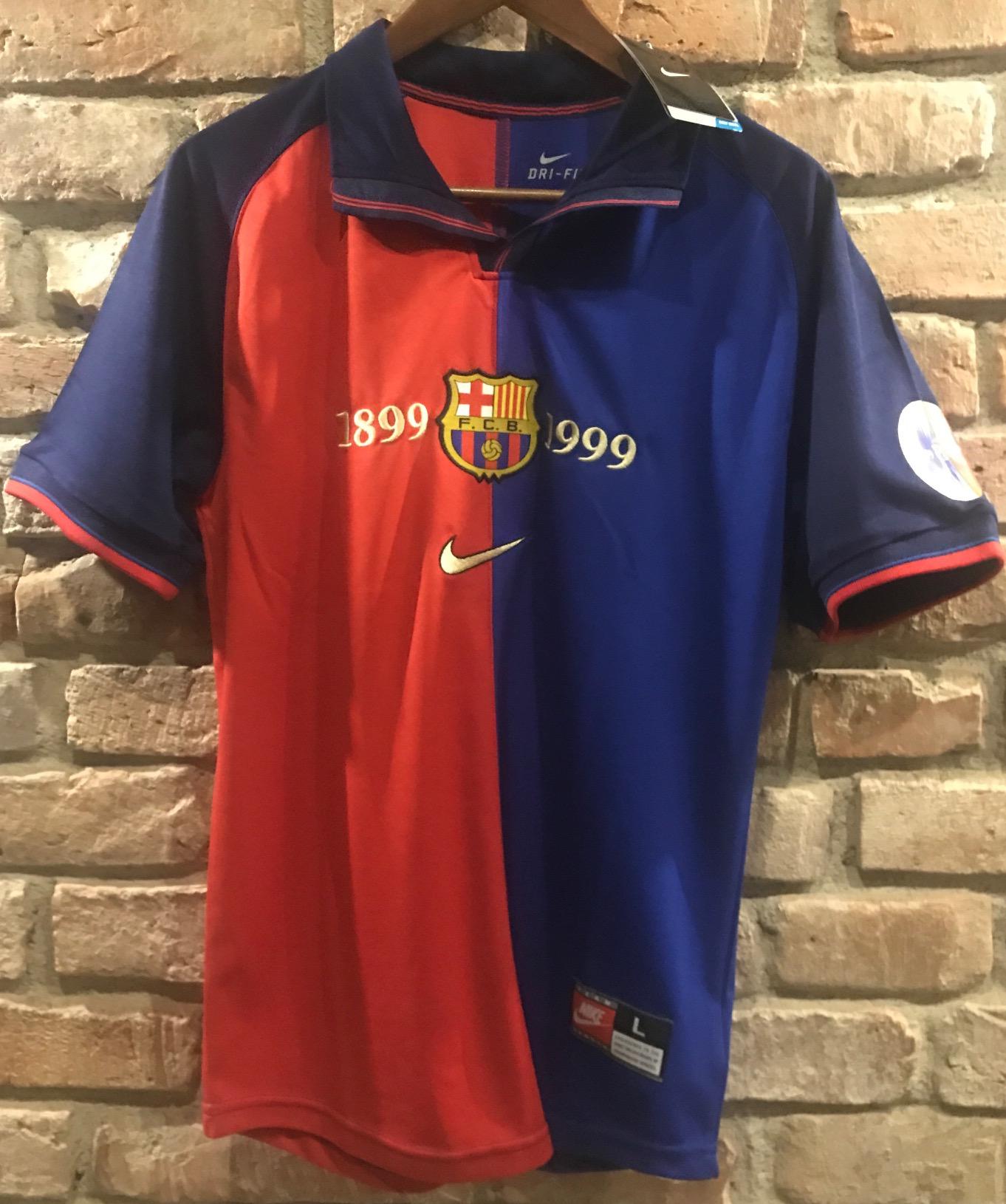 02cd2a548 FC BARCELONA Koszulka Nike Retro 1999 Guardiola! - 7154103500 ...