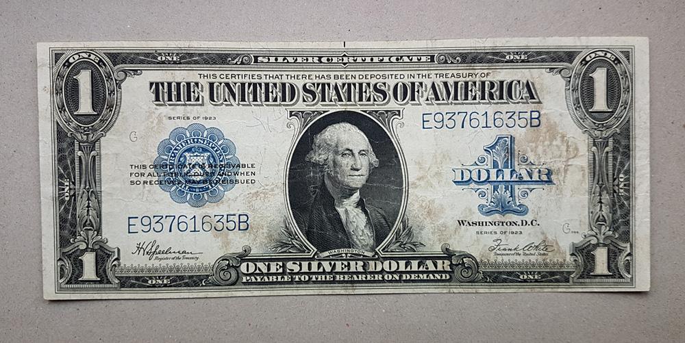1 duży dolar 1923 - USA