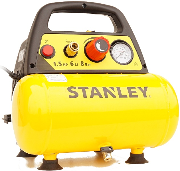 Picture of STANLEY COMPRESSOR COMPRESSOR 6L 8 BAR + SET 6EL.