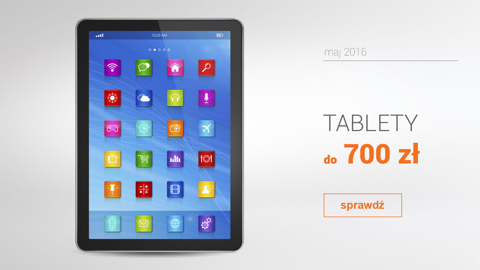 Tablety do 700 zł – maj 2016