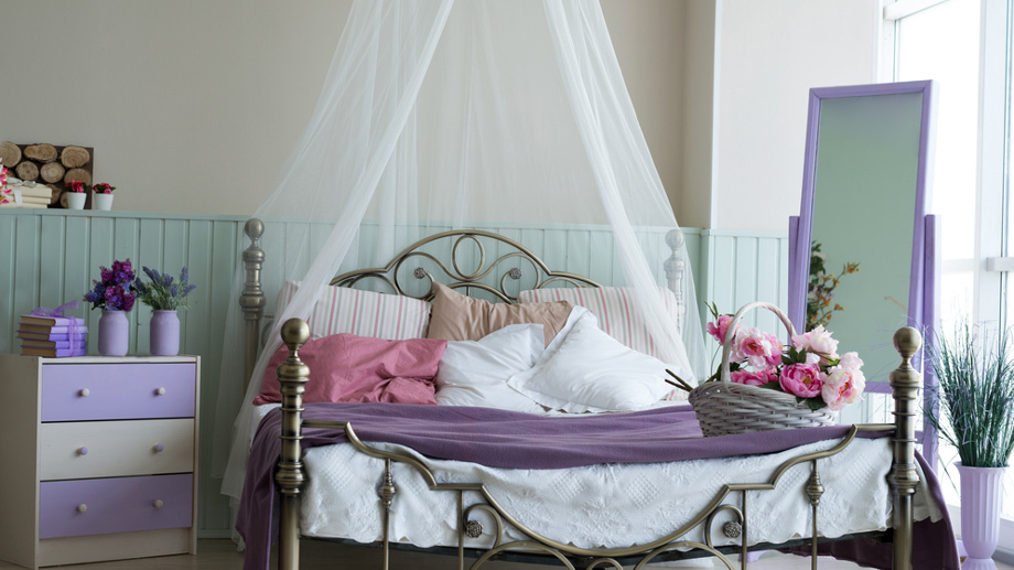 Baldachim Nad łóżkiem Marzenie Nie Tylko Małej Dziewczynki