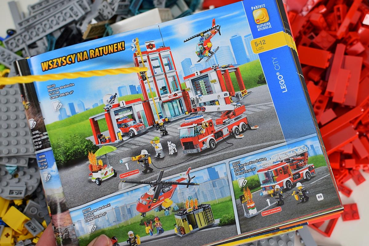 Remiza Strażacka Lego City 60110 Recenzja Zestawu Klocków