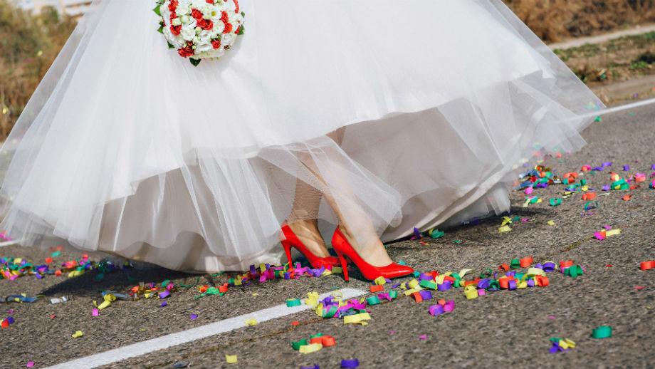 b9d9c1b0 Kolorowe buty do sukni ślubnej - Allegro.pl