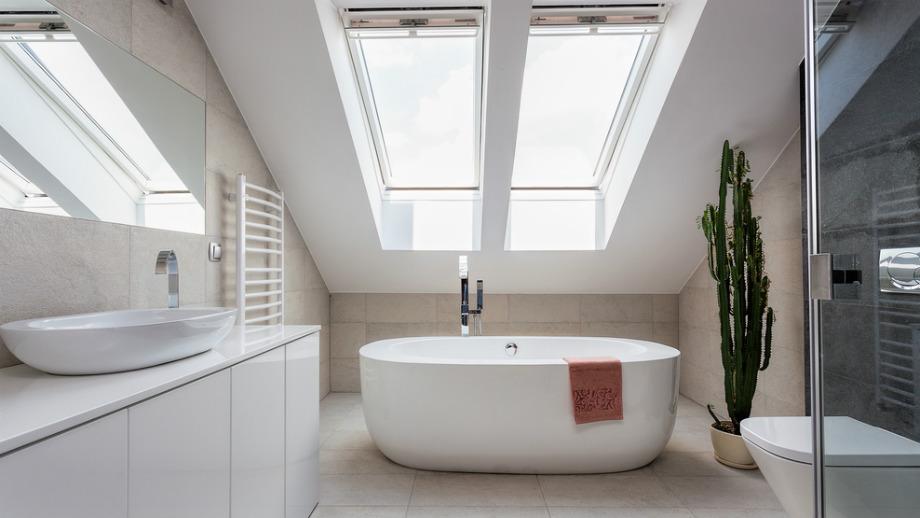 Jak Urządzić łazienkę Ze Skosami Allegropl