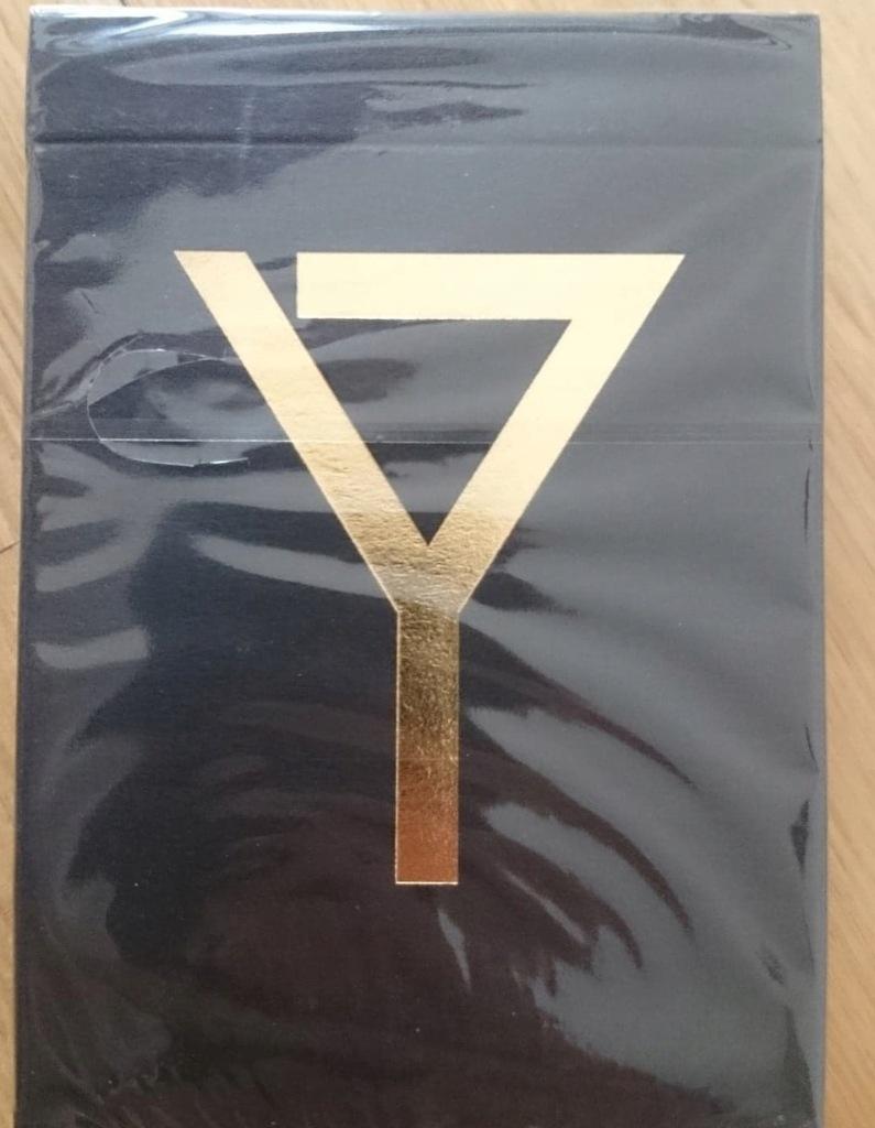 Karty Y Czarno Zlote Gold Magic Of Y Limited 7385545663 Oficjalne Archiwum Allegro