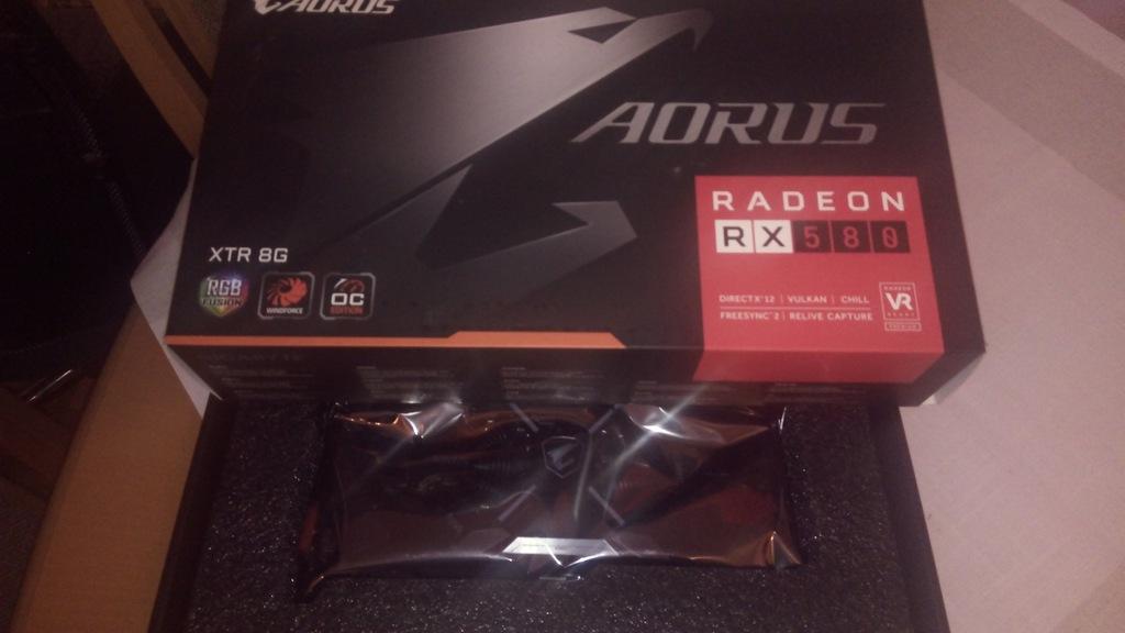 Gigabyte Radeon RX 580 AORUS 8GB XTR jedyna TAKA!
