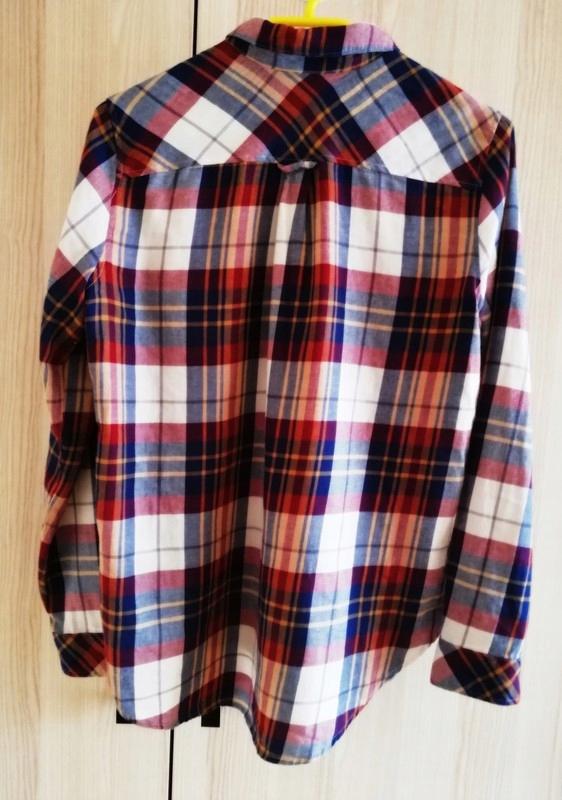 Koszula w kratę z długim rękawem H&M 36 7566969912  shB8h