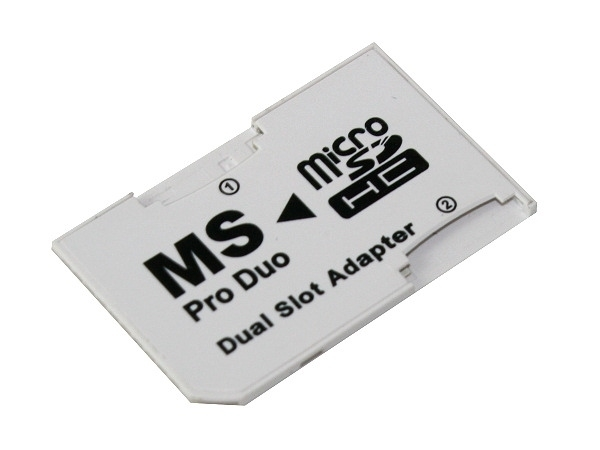 ADAPTER DUAL MICRO SD MS PRO DUO DWIE KARTY