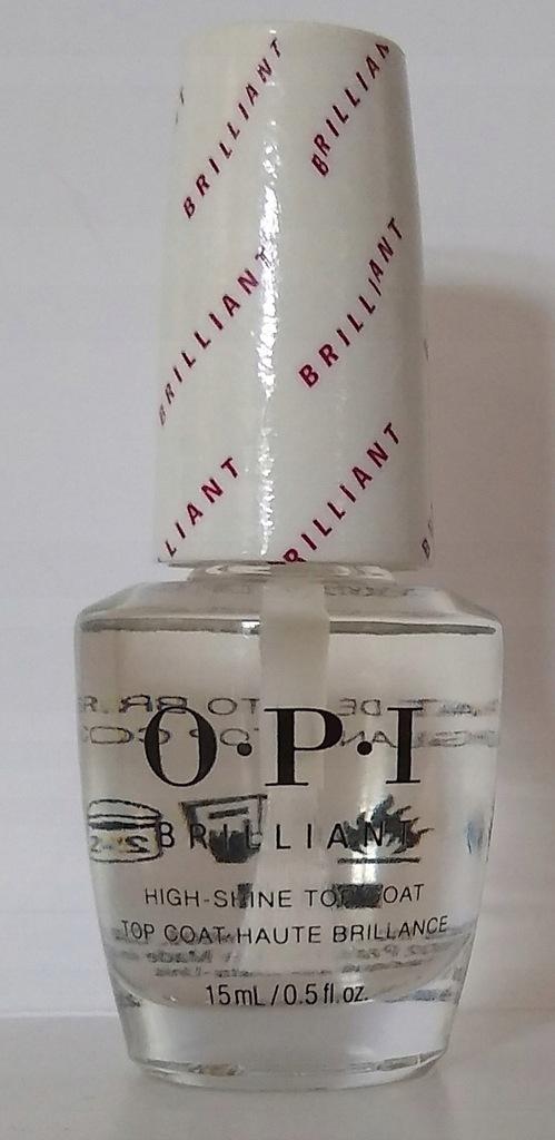 OPI Brilliant high shine top coat 15 ml