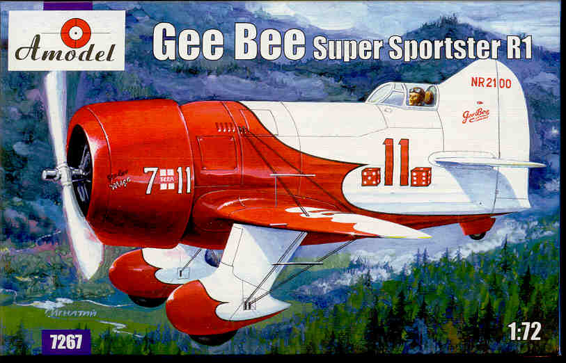 Dora Wings 1//48 Gee Bee R1 # 48002