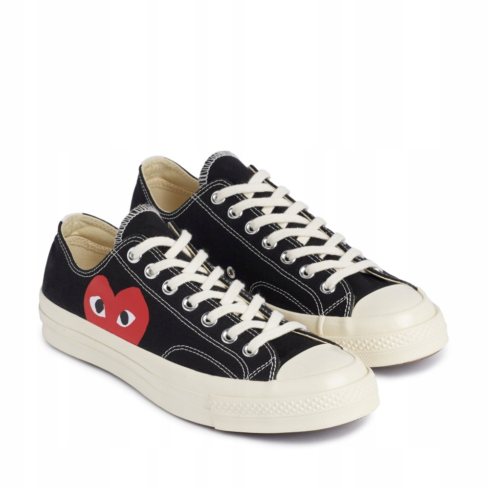 37 CONVERSE CDG Play Chuck Taylor All S LOW BLACK