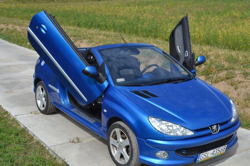 Peugeot 206 Cc 2 0 133km 2004 Tuning Slupsk 7482460187 Oficjalne Archiwum Allegro