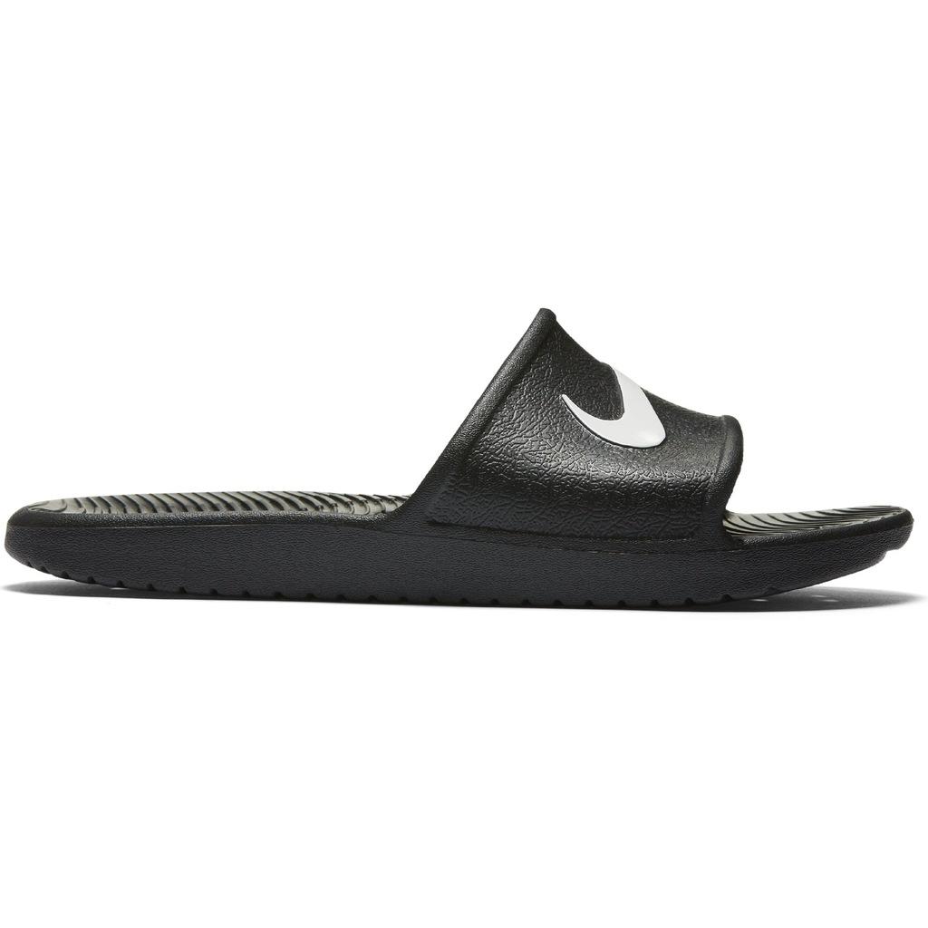 Nike klapki męskie CZARNE KAWA SHOWER 832528001 46