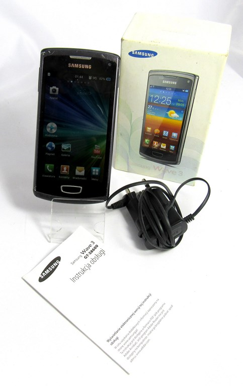 Samsung S8600 Wave 3 Nie Czyta Sim 7146458588 Oficjalne Archiwum Allegro