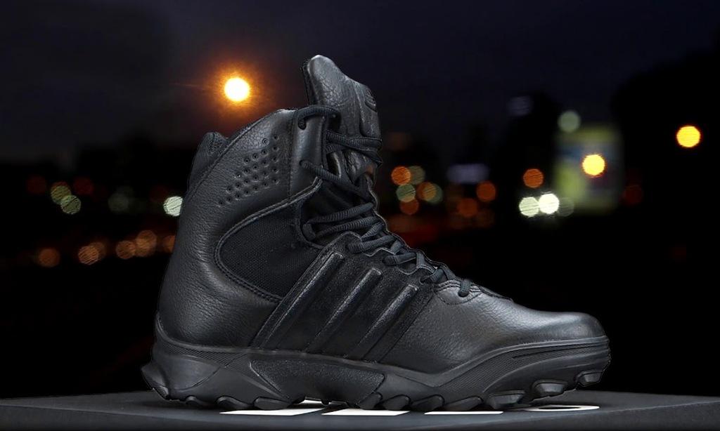 ADIDAS TACTICAL BOOTS GSG-9.7 SWAT CORE BLACK r 42