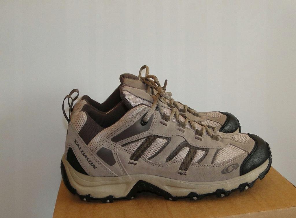 SALOMON sportowe buty roz 38 23 wkł 24 cm BDB