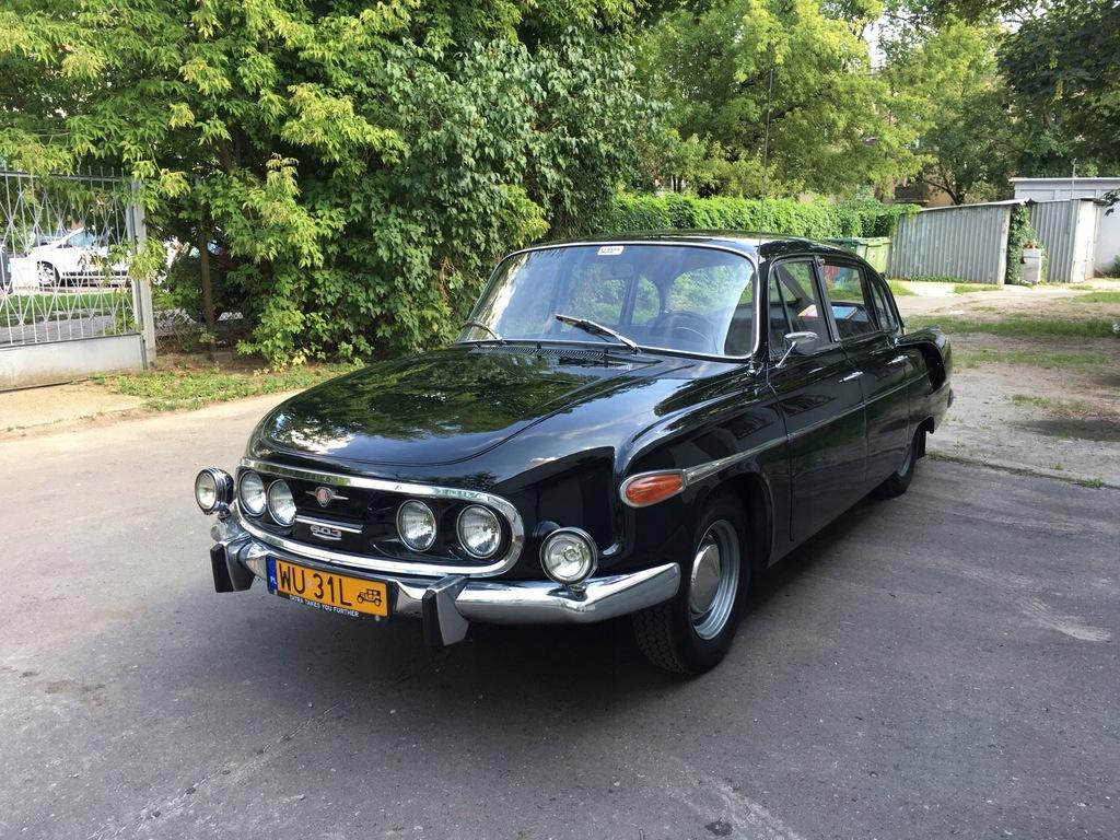 Tatra 603 '69, chłodzone powietrzem V8 z tyłu!
