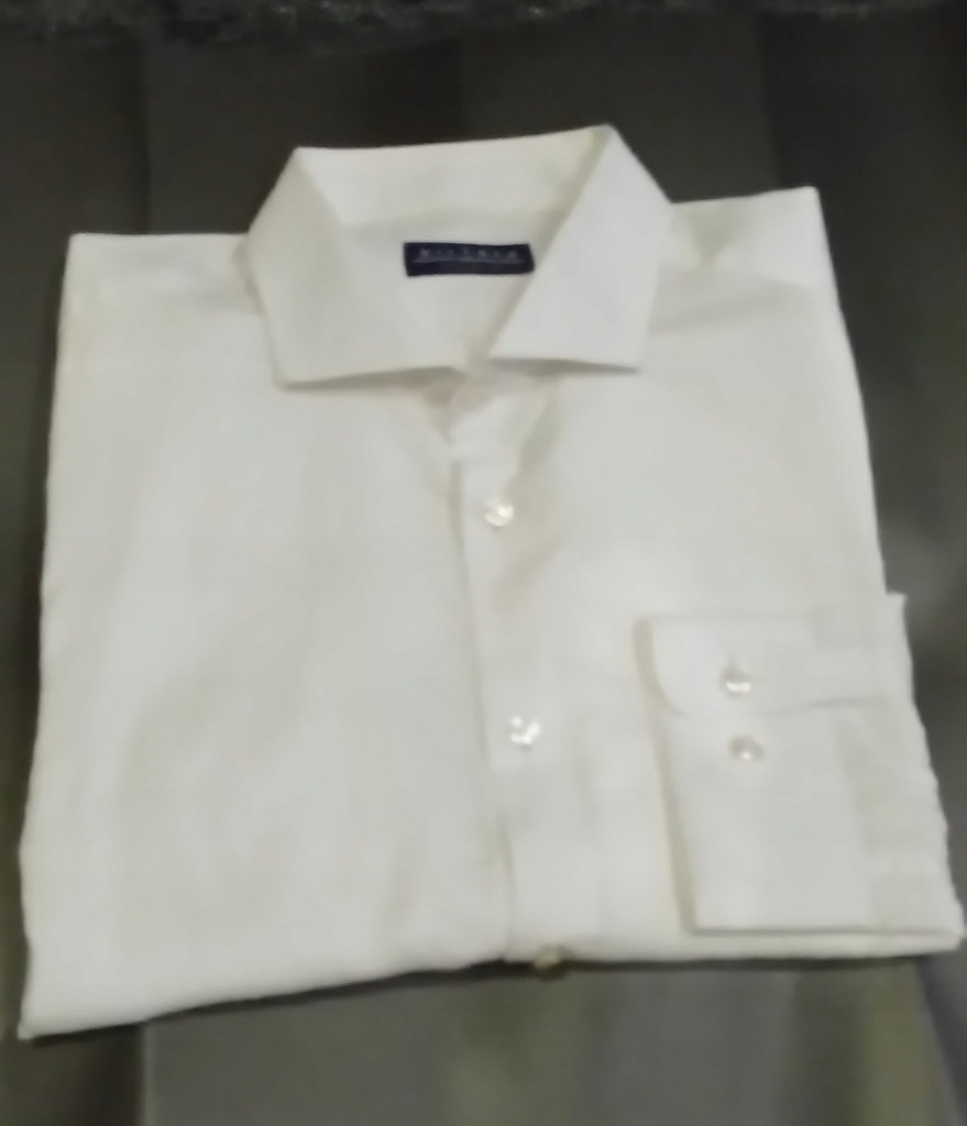 Koszula męska VISTULA biała wzór 42176 182 7704858490  so9bE