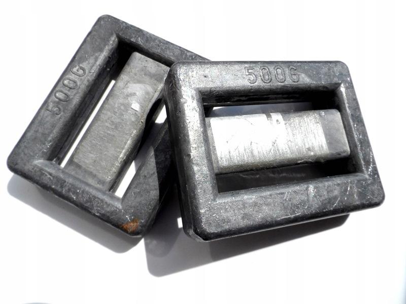 NURKOWANIE BALAST 2szt - 0,5 kg /500g