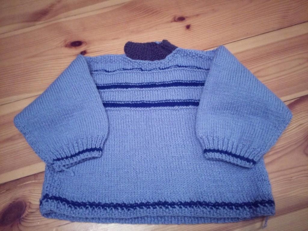 Sweterek Na Drutach Welna Dla Dzieci R 74 7731904174 Oficjalne Archiwum Allegro